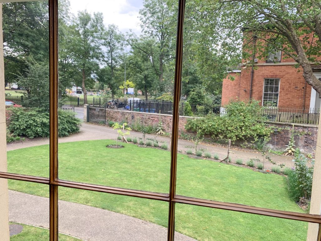 Elizabeth Gaskell House Garden