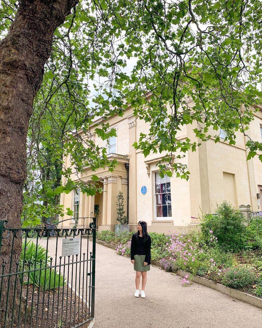 Elizabeth Gaskell House Instagram