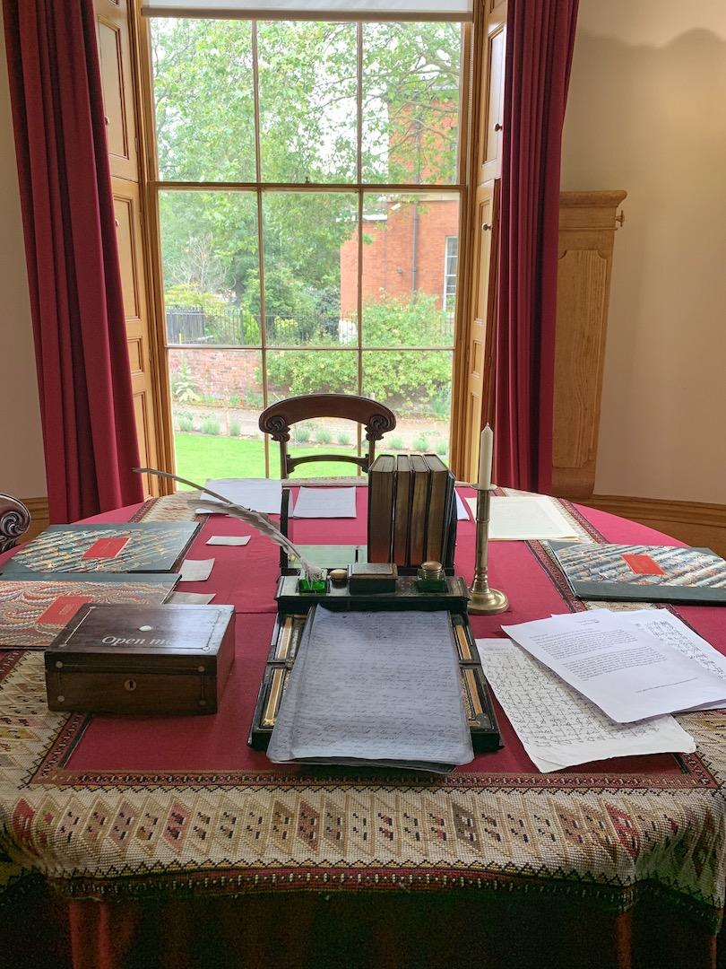 Elizabeth Gaskell House Writing Desk