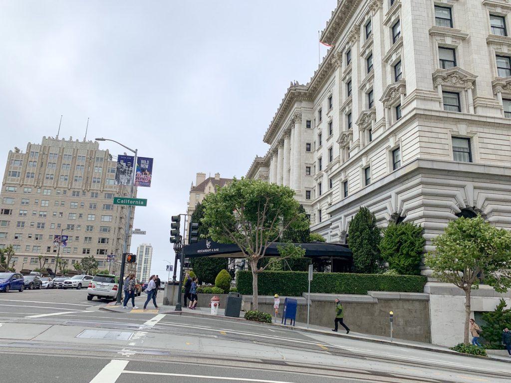 Fairmont San Francisco California Street