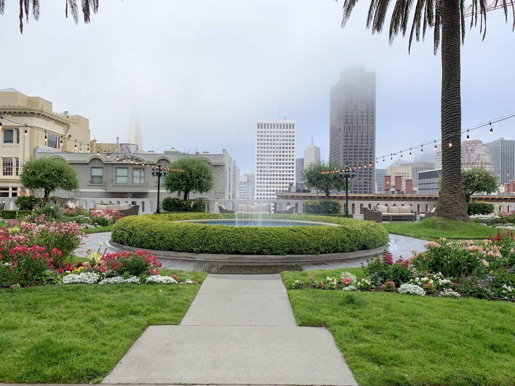 Fairmont San Francisco Roof Courtyard