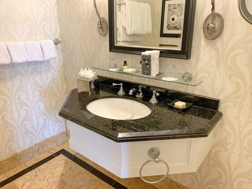 Fairmont San Francisco bathroom sink