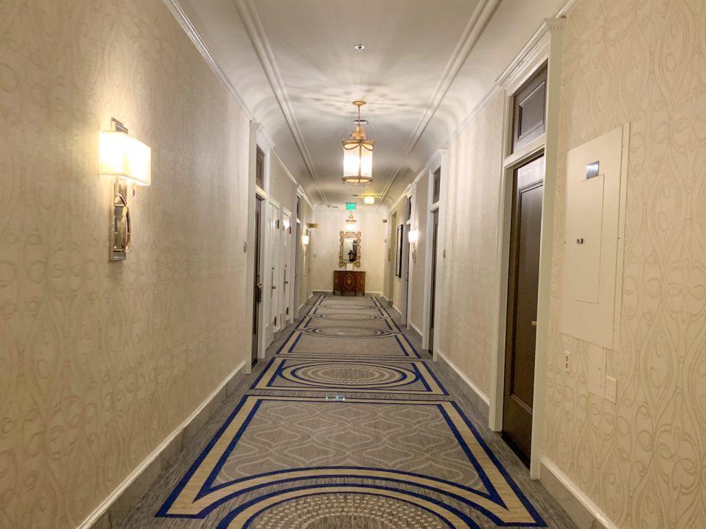 Fairmont San Francisco hallway