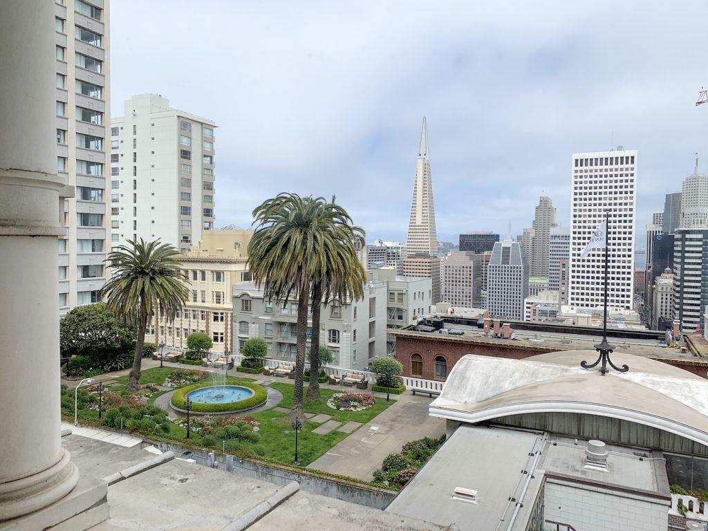 Fairmont San Francisco room view