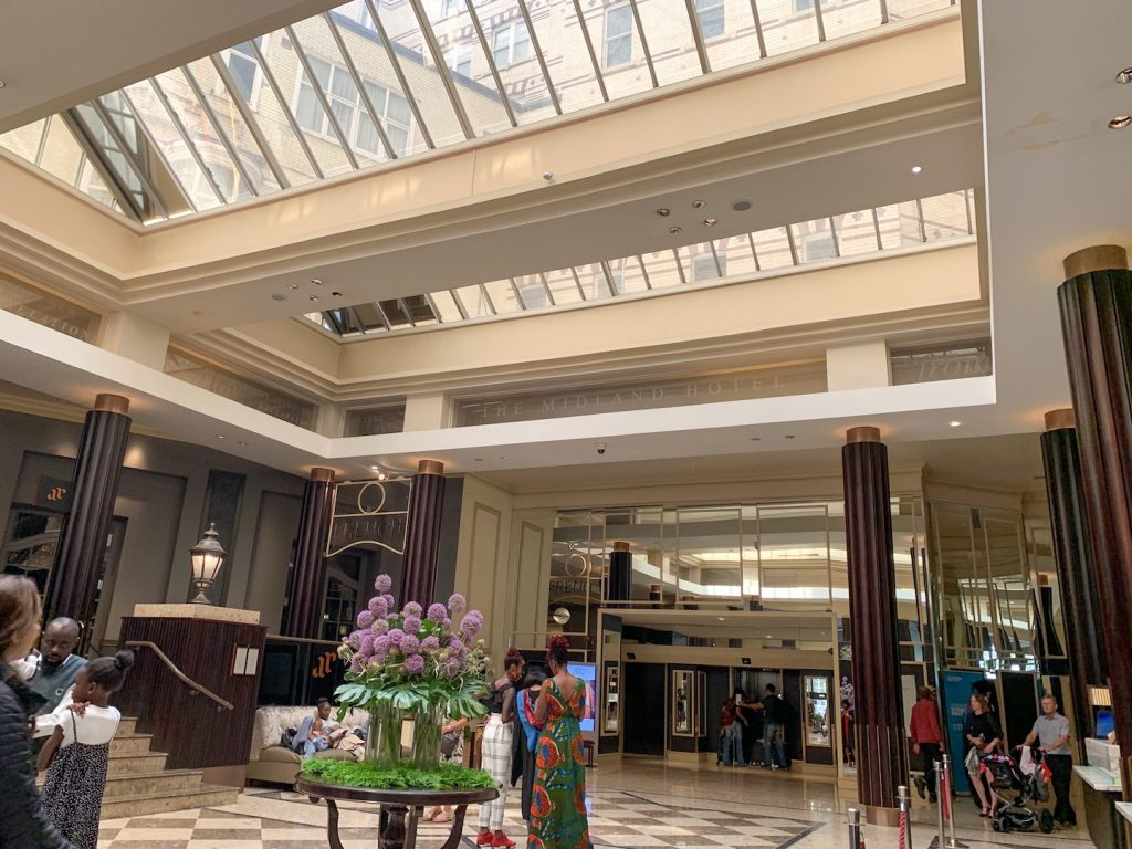 The Midland Manchester lobby