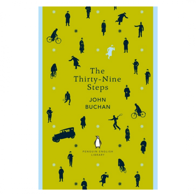 The Thirty-Nine Steps penguin english library